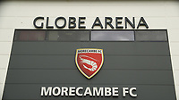 General Stadium view of the Globe Arena ahead of the Sky Bet League 2 match between Morecambe and Wycombe Wanderers at the Globe Arena, Morecambe, England on 29 April 2017. Photo by Stephen Gaunt / PRiME Media Images.