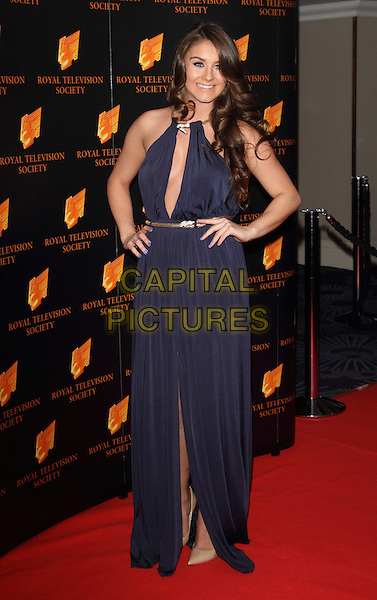 LONDON, UNITED KINGDOM - MARCH 18: Brooke Vincent attends the RTS programme awards at Grosvenor House, on March 18, 2014 in London, England.<br /> CAP/ROS<br /> &copy;Steve Ross/Capital Pictures