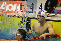 Michael Pickett, 100m 16years Free NAG record.  Swimming New Zealand Aon National Age Group Championships, Wellington Regional Aquatic Centre, Wellington, New Zealand, Saturday 20 April 2019. Photo: Simon Watts/www.bwmedia.co.nz