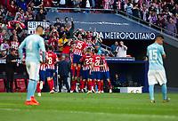 2019.04.13 La Liga Atletico de Madrid VS Celta de Vigo