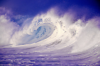 Large and powerful waves found off the North Shore of Oahu