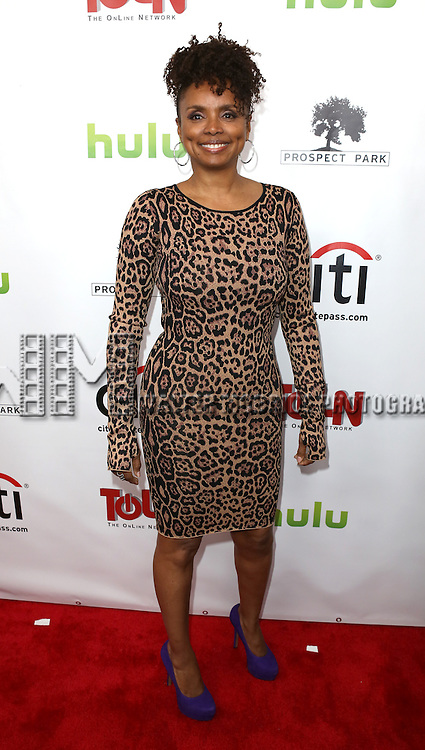 Debbi Morgan  attending the Celebration Launch of the April 29th online debut of 'All My Children' and 'One Life To Live' on the TOLN Online Network held at the Skirballcenter for Performing Arts in New York City on 4/23/2013...