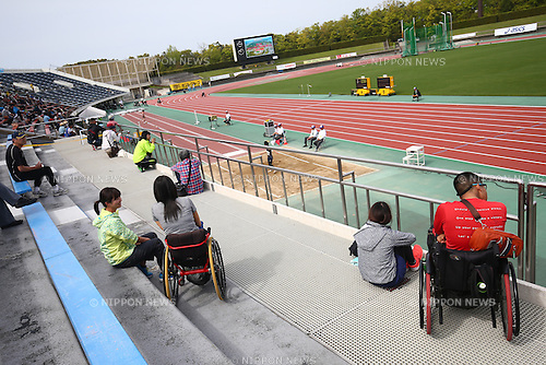 General View,<br /> MAY 1, 2016 - Athletics :<br /> Japan Para Athletics Championships<br /> at Coca Cola West Sports Park, Tottori, Japan.<br /> (Photo by Shingo Ito/AFLO SPORT)