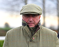 Trainer Paul Nicholls during Horse Racing at Wincanton Racecourse on 5th December 2019