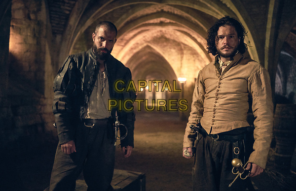 Gunpowder (2017)<br /> Kit Harington &amp; Tom Cullen<br /> *Filmstill - Editorial Use Only*<br /> CAP/KFS<br /> Image supplied by Capital Pictures