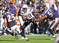 Sep. 20, 2009; San Diego, CA, USA; San Diego Chargers wide receiver (89) Chris Chambers against the Baltimore Ravens at Qualcomm Stadium in San Diego. Baltimore defeated San Diego 31-26. Mandatory Credit: Mark J. Rebilas-