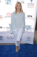 Natasha Barritt<br /> at Clayton Kershaw's Ping Pong 4 Purpose Celebrity Tournament to Benefit Kershaw's Challenge, Dodger Stadium, Los Angeles, CA 08-11-16<br /> David Edwards/MediaPunch