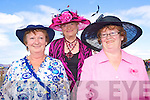 Aine O'Shea, Ita McDonagh and Marie Diggin, Glenbeigh pictured at Glenbeigh Races at Rossbeigh Beach on Sunday.