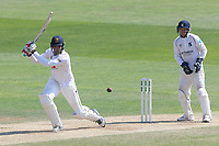 Paul Walter hits four runs for Essex as Tim Ambrose looks on from behind the stumps during Essex CCC vs Warwickshire CCC, Specsavers County Championship Division 1 Cricket at The Cloudfm County Ground on 20th June 2017