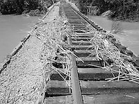 Debris on the tracks