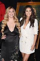 LOS ANGELES - JUN 14:  Sasha Pieterse, Shay Mitchell at the Made Here exhibit preview at the Warner Brothers Studio on June 14, 2017 in Burbank, CA