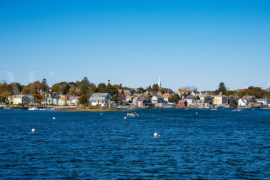 Scenic town,  Portsmouth, New Hampshire, USA