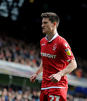 Nottingham Forest's Joe Lolley<br /> <br /> Photographer Hannah Fountain/CameraSport<br /> <br /> The EFL Sky Bet Championship - Ipswich Town v Nottingham Forest - Saturday 16th March 2019 - Portman Road - Ipswich<br /> <br /> World Copyright &copy; 2019 CameraSport. All rights reserved. 43 Linden Ave. Countesthorpe. Leicester. England. LE8 5PG - Tel: +44 (0) 116 277 4147 - admin@camerasport.com - www.camerasport.com