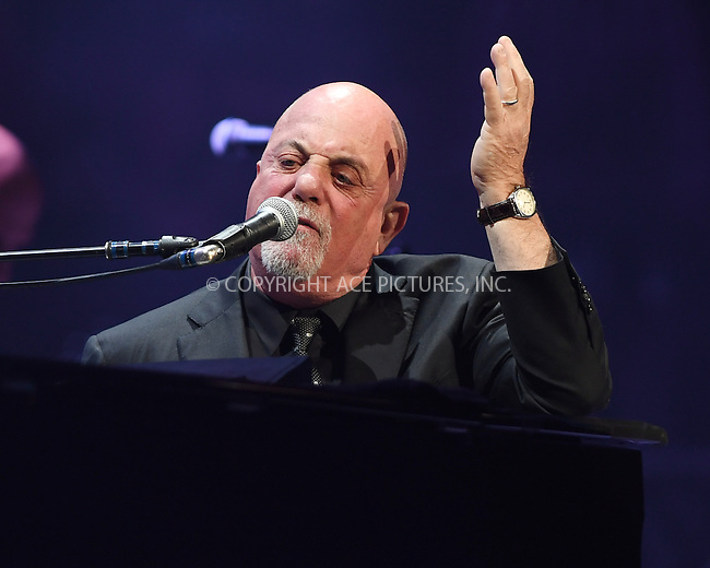 www.acepixs.com<br /> <br /> December 31 2016, Sunrise, FL<br /> <br /> Billy Joel performs on New Years Eve at The BB&amp;T Center on December 31, 2016 in Sunrise, Florida<br /> <br /> By Line: Solar/ACE Pictures<br /> <br /> ACE Pictures Inc<br /> Tel: 6467670430<br /> Email: info@acepixs.com<br /> www.acepixs.com
