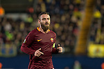 Daniele De Rossi of AS Roma during the match Villarreal CF vs AS Roma, part of the UEFA Europa League 2016-17 Round of 32 at the Estadio de la Cerámica on 16 February 2017 in Villarreal, Spain. Photo by Maria Jose Segovia Carmona / Power Sport Images