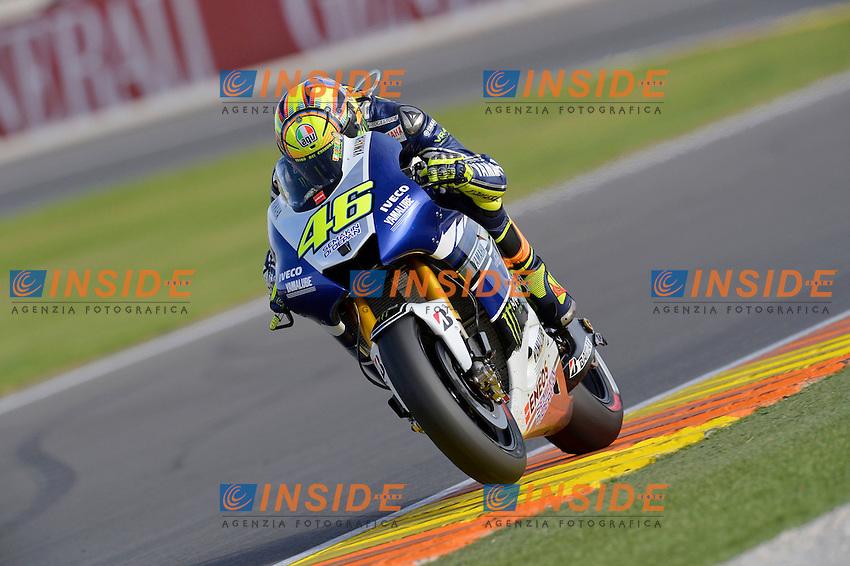 Valentino Rossi <br /> 10-11-2013 Valencia Spagna<br /> Motogp world championship<br /> Foto Luca Gambuti / Imagesport / Insidefoto