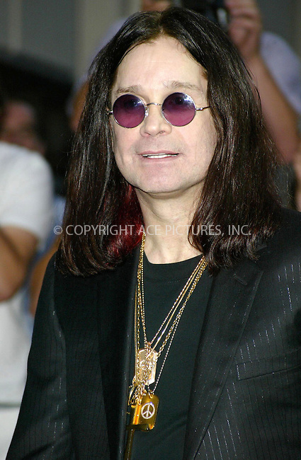 Ozzy Osbourne at the GQ Man of the Year Awards. The ceremony was held at the Royal Opera House in London's Covent Garden, 7 September 2004. ..FAMOUS PICTURES AND FEATURES AGENCY.tel  +44 (0) 20 7731 9333.fax +44 (0) 20 7731 9330.e-mail info@famous.uk.com.www.famous.uk.com.FAM13474