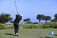 Graeme McDowell (NIR) tees off the 7th tee of Monterey Peninsula CC during Saturday's Round 3 of the 2018 AT&amp;T Pebble Beach Pro-Am, held over 3 courses Pebble Beach, Spyglass Hill and Monterey, California, USA. 10th February 2018.<br /> Picture: Eoin Clarke | Golffile<br /> <br /> <br /> All photos usage must carry mandatory copyright credit (&copy; Golffile | Eoin Clarke)
