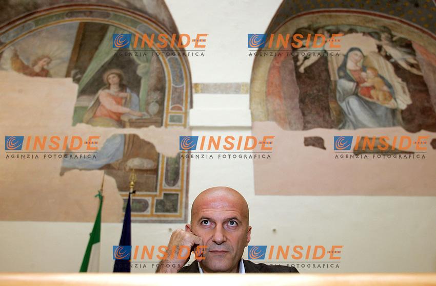 """AUGUSTO MINZOLINI.Roma 26/10/2010.Dibattito dal titolo """"In difesa della libertà di stampa: due pesi, due misure?.Photo Samantha Zucchi Insidefoto"""