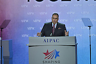 March 3, 2013  (Washington, DC)  John Perez, Speaker of the California State Assembly, addresses the Sunday afternoon plenary session of the 2013 AIPAC Policy Conference.  (Photo by Don Baxter/Media Images International)