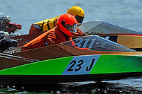 23-J and Shawn Glossner (311-J) (runabout)