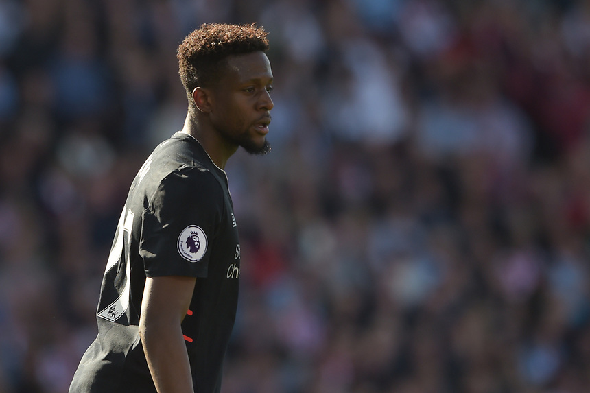 Liverpool's Divock Origi<br /> <br /> Photographer Terry Donnelly/CameraSport<br /> <br /> The Premier League - Stoke City v Liverpool - Saturday 8th April 2017 - bet365 Stadium - Stoke-on-Trent<br /> <br /> World Copyright &copy; 2017 CameraSport. All rights reserved. 43 Linden Ave. Countesthorpe. Leicester. England. LE8 5PG - Tel: +44 (0) 116 277 4147 - admin@camerasport.com - www.camerasport.com