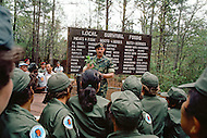 Special Force, April 1982. Fort Bragg, NC. Operation Gabriel, instruction before a restricted public, highly selected, whose names are kept secret.