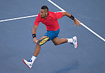 Nick Kyrgios (AUS) defeated David Ferrer (ESP) 7-6, 7-6