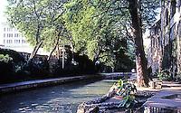 San Antonio:  Paseo del Rio near Houston St. Photo '80.