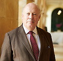 Julian Fellowes, actor and  writer  of Downton Abbey at The Blenheim Palace Literary Festival in Woodstock, Oxfordshire CREDIT Geraint Lewis