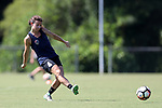 CARY, NC - JULY 20: Elizabeth Eddy. The North Carolina Courage held a training session on July 20, 2017, at WakeMed Soccer Park Field 3 in Cary, NC.