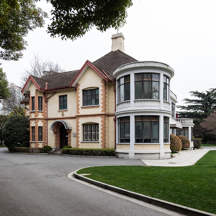 Villa Residence In The Grounds Of The Radisson Plaza Hotel.  Villa 6, Believed To Have Been A Butterfield & Swire Residence At 725 Avenue Haig.