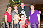 CHRISTMAS TIME: The staff of the Castlemaine Resource Centre enjoying a great time at their Christmas Party in the Fels Point Hotel on Friday seated l-r: Pamela Brassil and Niamh Sheridan. Back l-r: Helen Power, Mary Fitzgerald, Martin Greenwood and Eileen Courtney.