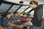 Project leader Shane Wasik briefing the survey divers. (Photo by Shane Wasik Photography).