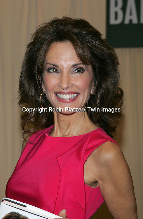 "Susan Lucci at her book signing for""All My Life"" on March 29, 2011 at Barnes and Nobles on 5th Avenue in New York City. .Photo by Robin Platzer/ Twin Images"