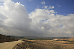 Israel, Southern Hebron Mountain, Yatir Forest Scenic Route