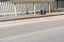 3 aprile 2020, Sassari, viale Italia. Davanti all'ingresso del Pronto Soccorso dell'Ospedale Santissima Annunziata, in attesa  di notizie.