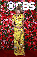 NEW YORK, NY - JUNE 10: Anna Wintour  at the 72nd Annual Tony Awards at Radio City Music Hall in New York City on June 10, 2018.