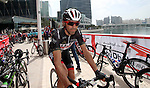 Rui Costa (POR) UAE Abu Dhabi team at sign on before the start of Stage 2 the Nation Towers Stage of the 2017 Abu Dhabi Tour, running 153km around the city of Abu Dhabi, Abu Dhabi. 24th February 2017<br /> Picture: ANSA/Matteo Bazzi | Newsfile<br /> <br /> <br /> All photos usage must carry mandatory copyright credit (&copy; Newsfile | ANSA)