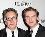 Moises Kaufman & Dan Stevens attending the Broadway Opening Night After Party for 'The Heiress' at The Edison Ballroom on 11/01/2012 in New York.