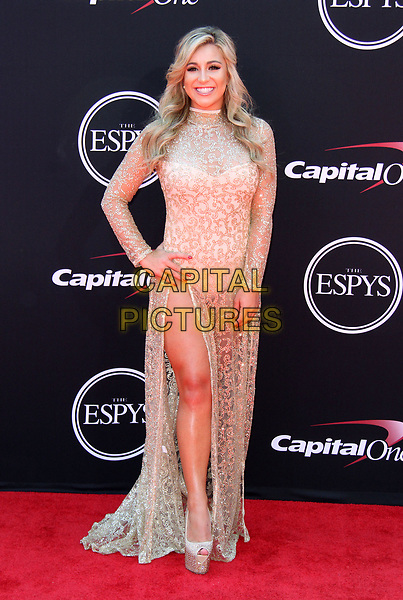 12 July 2017 - Los Angeles, California - Chelsea Pezzola. 2017 ESPYS Awards Arrivals held at the Microsoft Theatre in Los Angeles. <br /> CAP/ADM<br /> &copy;ADM/Capital Pictures