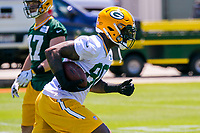 Green Bay Packers tight end Martellus Bennett (80) during an OTA on June 1, 2017 at Clark Hinkle Field in Green Bay, Wisconsin. (Brad Krause/Krause Sports Photography)