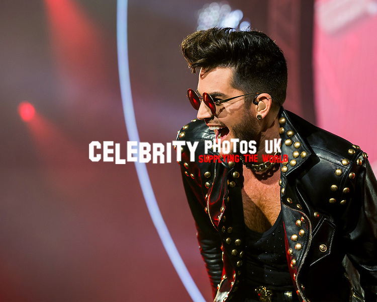 Queen and Adam Lambert The O2 Arena London, UK 18th January 2015 Photo Jim Templeton-Cross