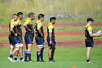 Hurricanes rugby union training at Rugby League Park in Wellington, New Zealand on Wednesday, 24 January 2018. Photo: Dave Lintott / lintottphoto.co.nz