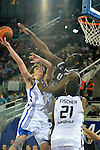 MADRID, Spain (19/01/11). Euroliga de baloncesto. Partido 1 del top 16, grupo G. Euroleague Basketball, Game 1 Top 16, Group G. Real Madrid vs Partizan MT:S..Carlos Suarez...©Raul Perez .