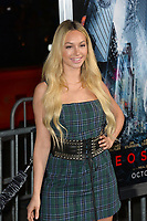 Corinne Olympios at the premiere for &quot;Geostorm&quot; at TCL Chinese Theatre, Hollywood. Los Angeles, USA 16 October  2017<br /> Picture: Paul Smith/Featureflash/SilverHub 0208 004 5359 sales@silverhubmedia.com