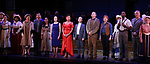 "Nancy Opel, Tam Mutu, Alexandra Socha, Bebe Neuwirth, Vanessa Williams,  Joel Grey, Bob Martin, Carolee Carmello, Clifton Duncan and Douglas Sills with cast during the final performance curtain call for the New York City Center Encores! at 25 production of  ""Hey, Look Me Over!"" on February 11, 2018 at the City Center Theatre in New York City."
