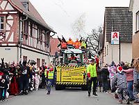 Freundeskreis Buchenhof Griesheim sorgt für Stimmung - Büttelborn 11.02.2018: Rosensonntagsumzug der BCA
