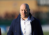 3rd February 2019, Trailfinders Sports Ground, London, England; Betfred Super League rugby, London Broncos versus Wakefield Trinity; London Broncos Head Coach Danny Ward looks on