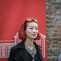Terzo giorno della Settimana della Moda a Milano edizione 2013: Trussardi ha scelto la Rotonda Besana per la sfilata<br /> <br /> Third day of Milan fashion week 2013 edition: Trussardi chose Rotonda Besana for his fashion show.